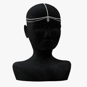 3D tikka crown