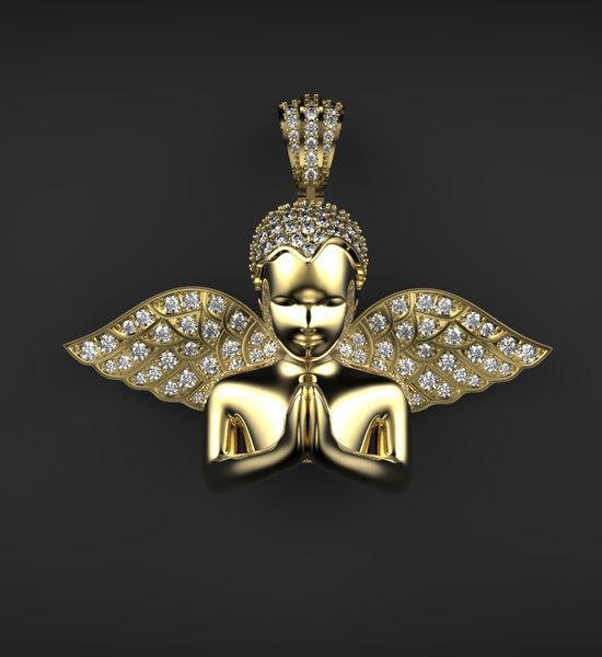 stl diamonds 3D model