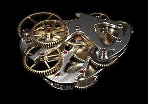 3D gear generator model