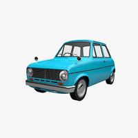 cartoon car suzulight 3D