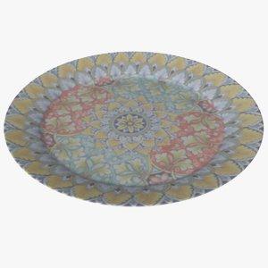 plate dish bowl model