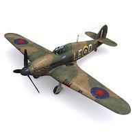 Hurricane Mk.IA - No. 242 Squadron Douglas Bader