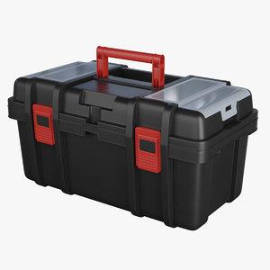3D toolbox tool box model