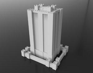 duloc castle 3D