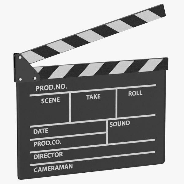 board production film 3D model