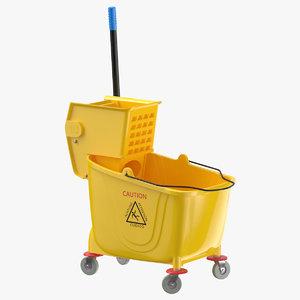 janitor bucket 3D