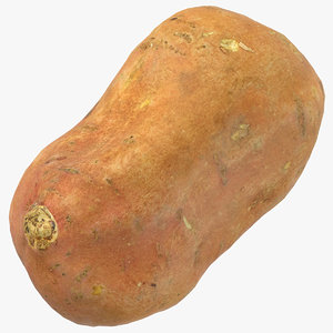 sweet potato 02 ready 3D model