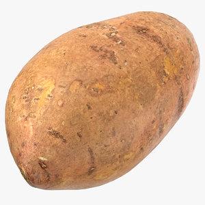 sweet potato 05 ready 3D model