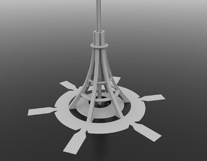international space elevator model