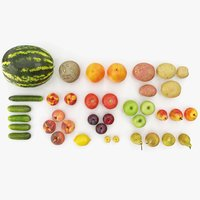 Fruits and Vegetables Collection