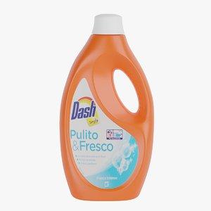 liquid detergent 3D model