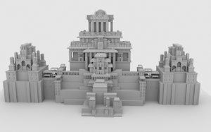 mahishmati palace 3D