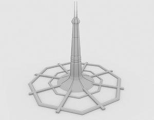 3D millennium gate