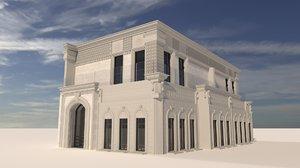 classic design library 3D model