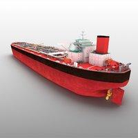 3D chinese tanker oil model