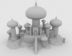 3D sultan s palace