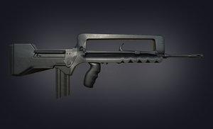 3D famas gun