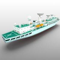 3D survey yuanwang 3 model
