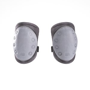 scanned military elbow pads 3D model