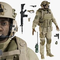uniform equipment 3D