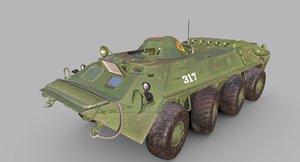 3D soviet apc afghan