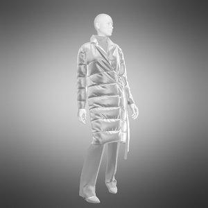 fashion beauty 3D model
