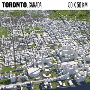 buildings houses maps model