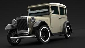 3D vehicle car