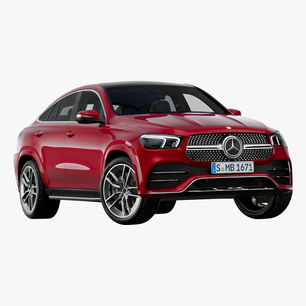 3D 2020 mercedes-benz gle coupe