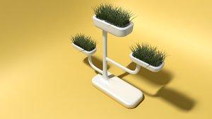 flowerpot model