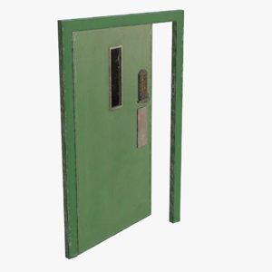 3D real metal secure door