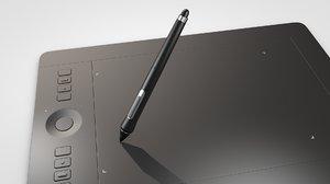 3D pen tablet model