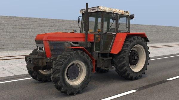 3D tractor zetor zts