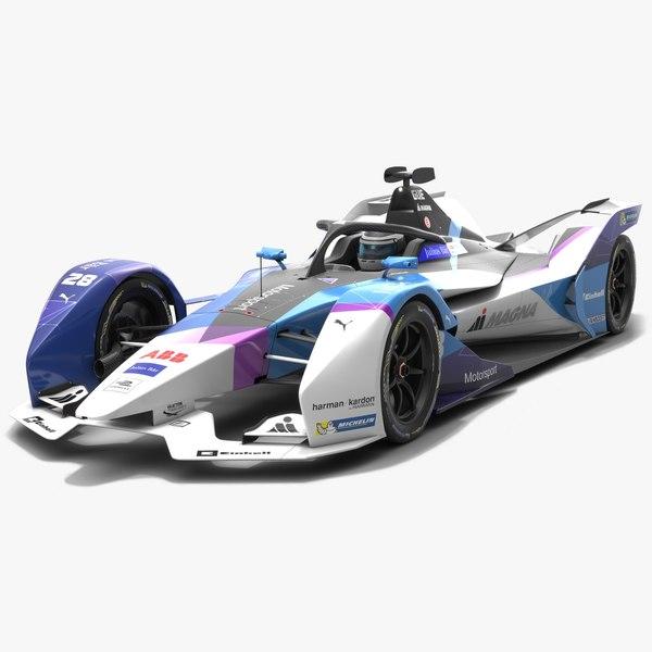 andretti motorsport formula e 3D