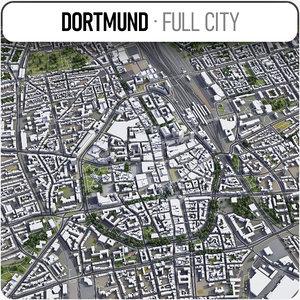 dortmund surrounding - 3D model