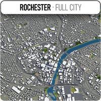 rochester surrounding - 3D model
