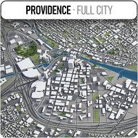 3D providence surrounding - model