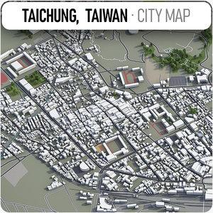 3D taichung surrounding -