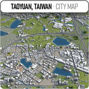 taoyuan surrounding - 3D model