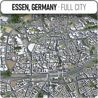 3D essen surrounding - model