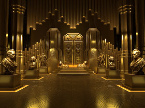 golden palace 3D