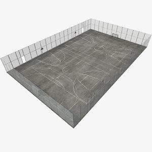 sport ground 3D model