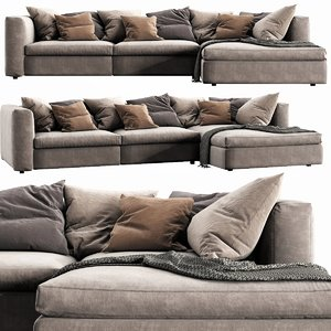 poliform dune chaise lounge model