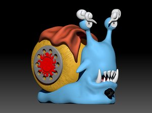 3D denden mushi jimbe