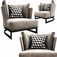 3D model linteloo cervino armchair