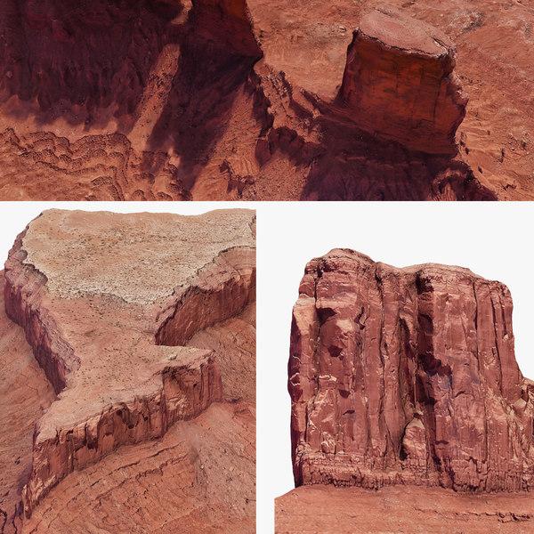 3D arizona monument valley