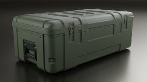 military crate model
