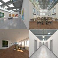 interior space 3D