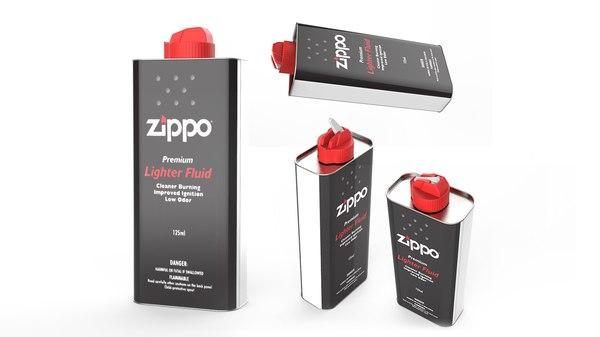 zippo lighter fluid - model