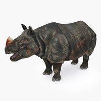 rhino type 01 b 3D model